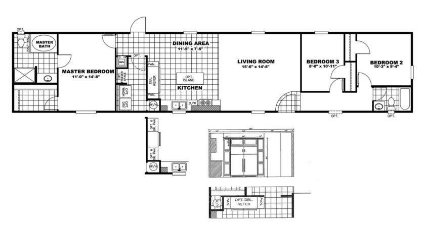 Manufactured Home Floor Plan Clayton Price Buster
