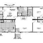 Manufactured Home Floor Plan Clayton Shenandoah Cob