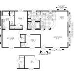 Manufactured Home Floor Plan Marlette Simplicity Sim