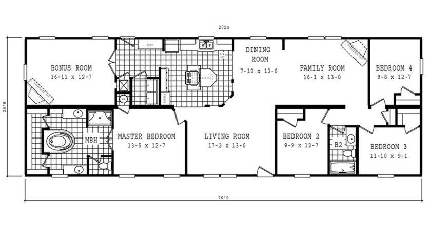 Manufactured Home Floor Plan Schult Classic Cla Kelsey