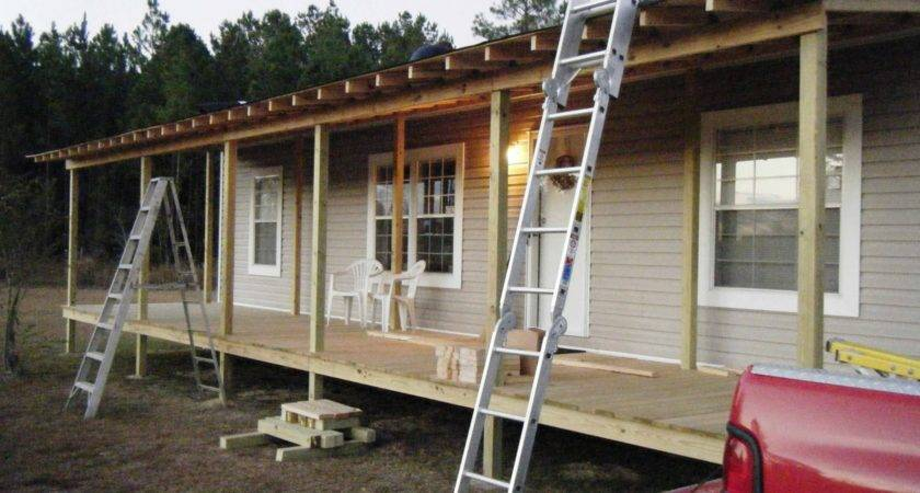 Manufactured Home Porch Idea