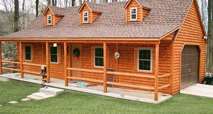 Manufactured Homes Look Like Log Cabins Bestofhouse