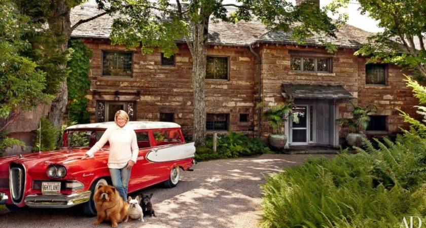 Martha Stewart Shows Off Her Bedroom Maine House Abc News