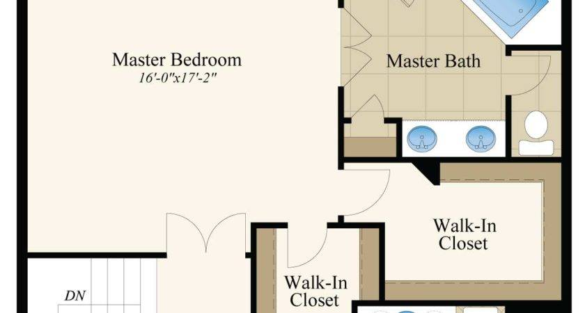 Master Bath Floor Plans Closet Bathroom