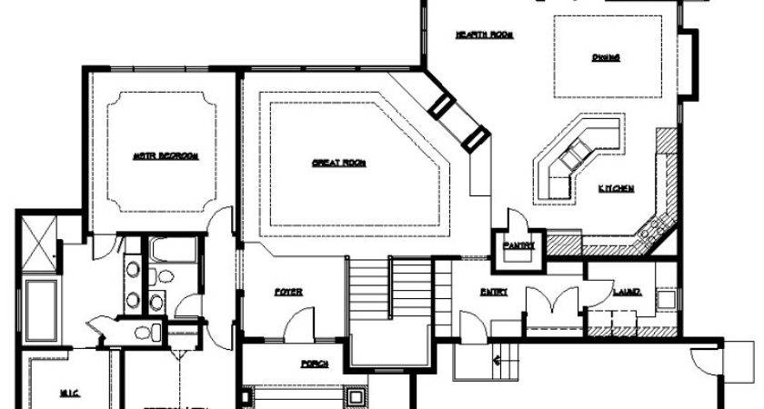Master Bedroom Bath Floor Plans Suite