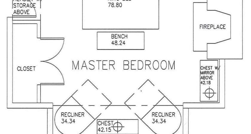 Master Bedroom Bath Floor Plans
