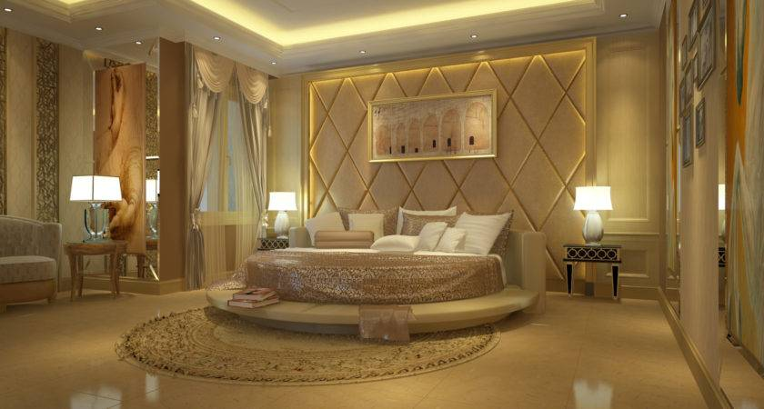 Master Bedroom Part Luxury Penthouse Realized Dsmax