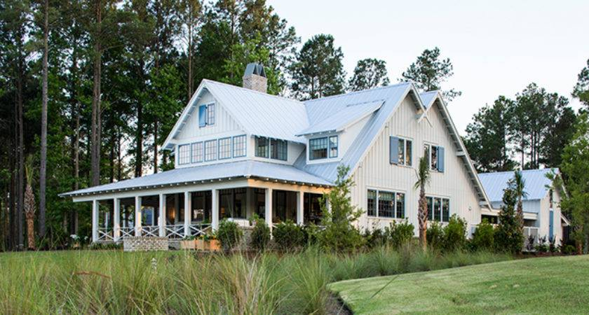 May River House Print Coastal Living Plans