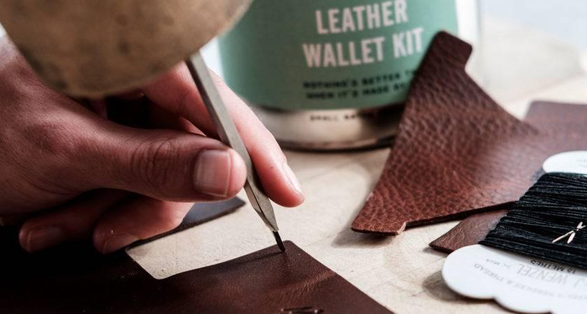 Men Society Diy Make Your Own Wallet Kit
