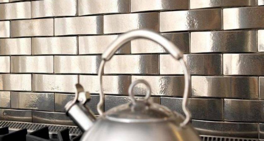 Metal Backsplashes Backsplash Behind Range Tea Pot