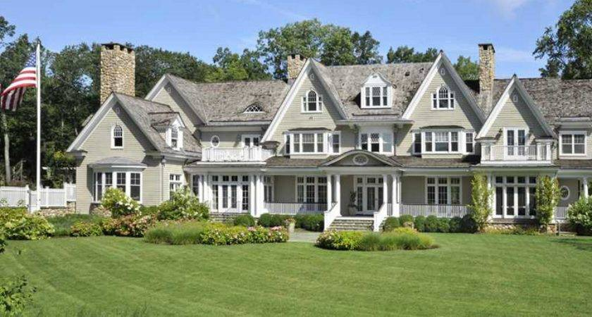 Million Colonial Mansion Greenwich Homes