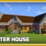 Minecraft Build Cool Starter House Tutorial