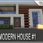Minecraft Build Easy Simple Modern House