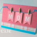 Mini Clothespin Greeting Card Thrifty Ginger