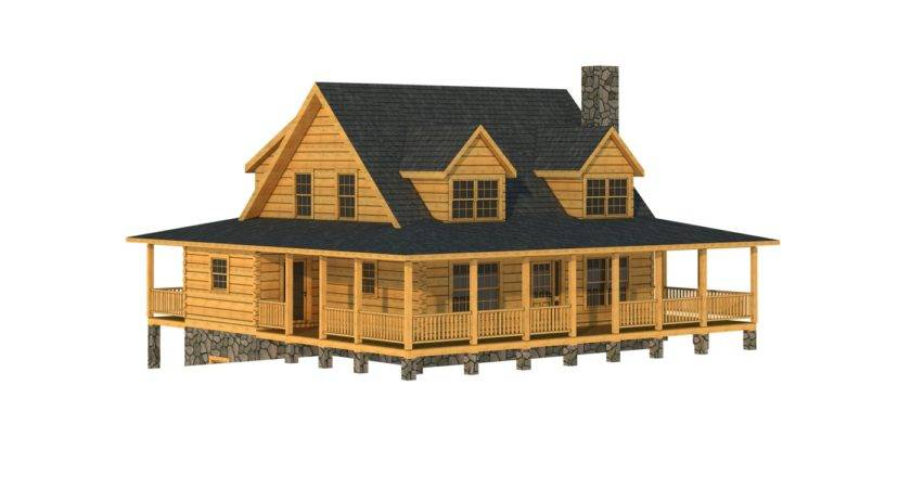 Mitchell Log Cabin Floor Plan Southland Homes