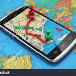 Mobile Gps Navigation Travel Tourism Concept