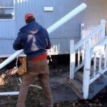Mobile Home Aluminum Skirting Install Demo Frenchy