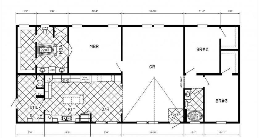 Mobile Home Floor Plans Bedrooms Homes Ideas