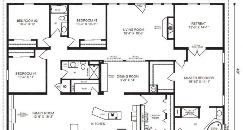 Mobile Home Floor Plans Bee Plan Decoration Ideas