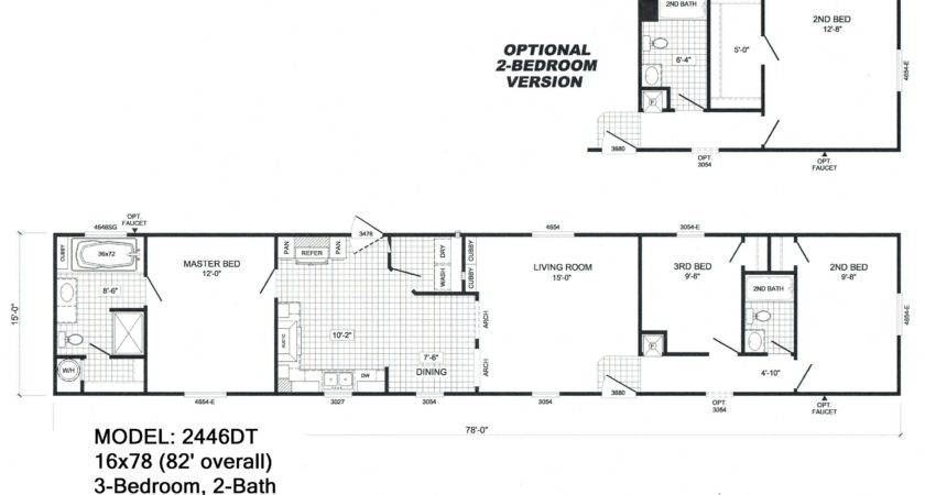 Mobile Home Floor Plans Best House
