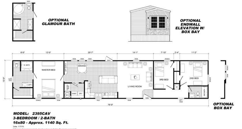 Mobile Home Floor Plans Homes Ideas