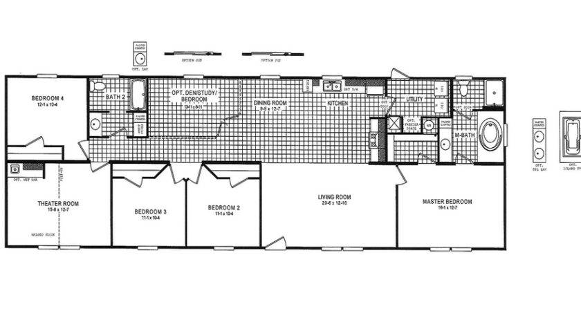 Mobile Home Floor Plans Myideasbedroom