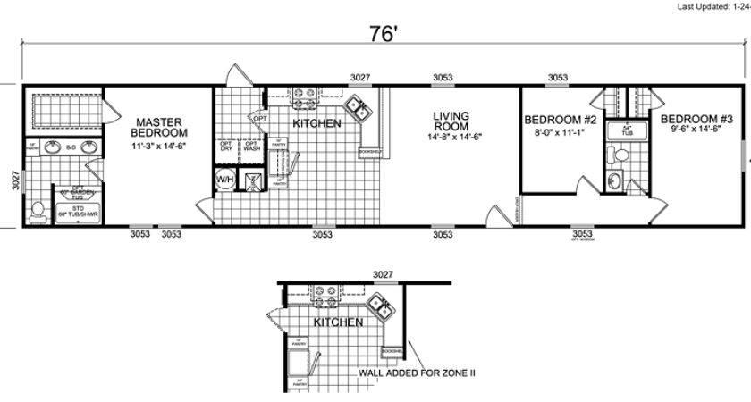 Mobile Home Floor Plans Plan