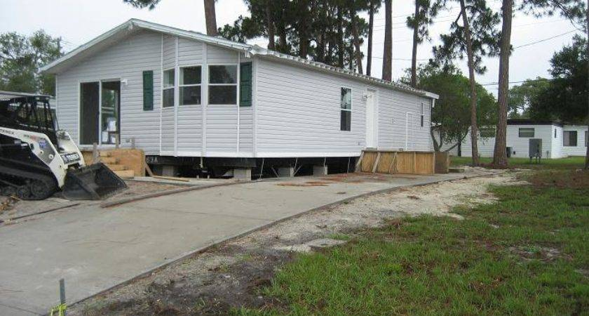 Mobile Home Installed May Ormond