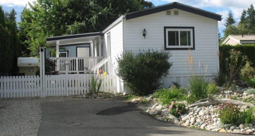 Mobile Home Own Land Sale Salmon Arm British Columbia