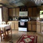 Mobile Home Renovation Professional Artist Creates Rustic