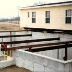 Mobile Home Set Construction