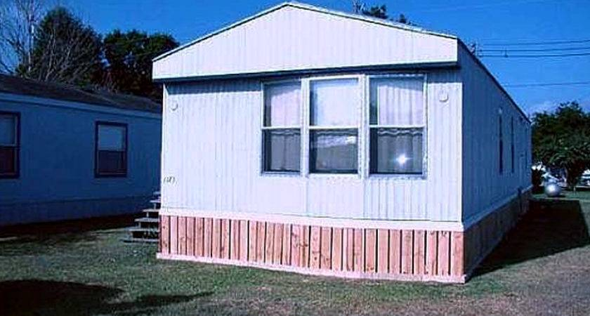 Mobile Home Skirting Faux Wood Ideas Homes