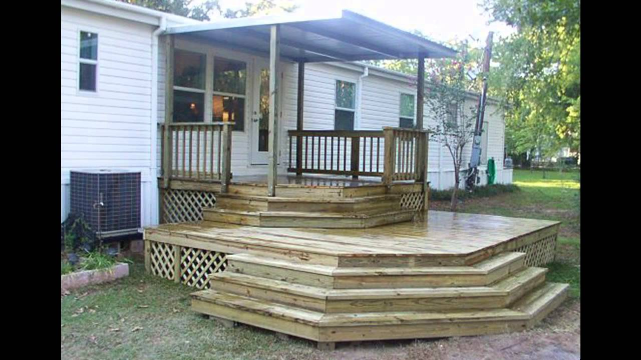 Mobile Home Steps Plans Amazing