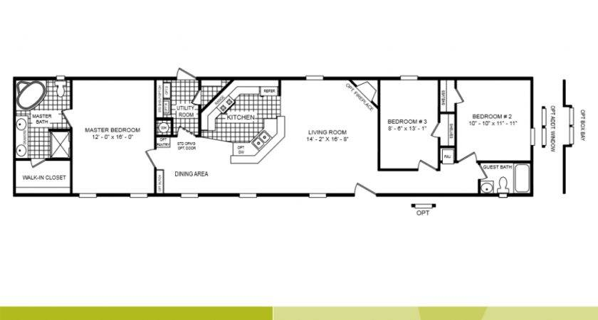 Mobile Homes Floor Plans Single Wide Quotes