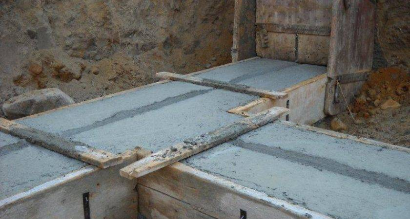 Mobile Homes Kit Buildings Slab Grade Foundation