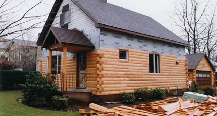 Mobile Homes Log Siding