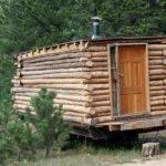 Mobile Log Cabin Home Studio Tiny Homes Living Spaces