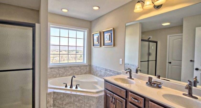 Model Home Master Bathroom Mountain Estates Pinterest