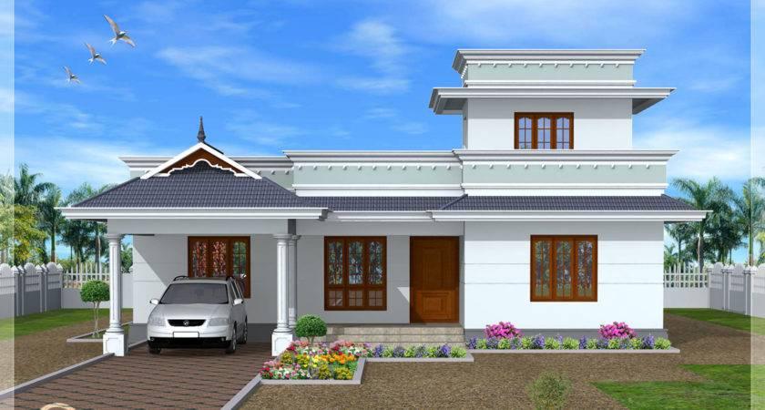 Model One Floor House Kerala Home Design Plans Kaf