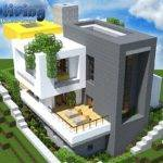Modern Easy Living Home Wok Minecraft Project