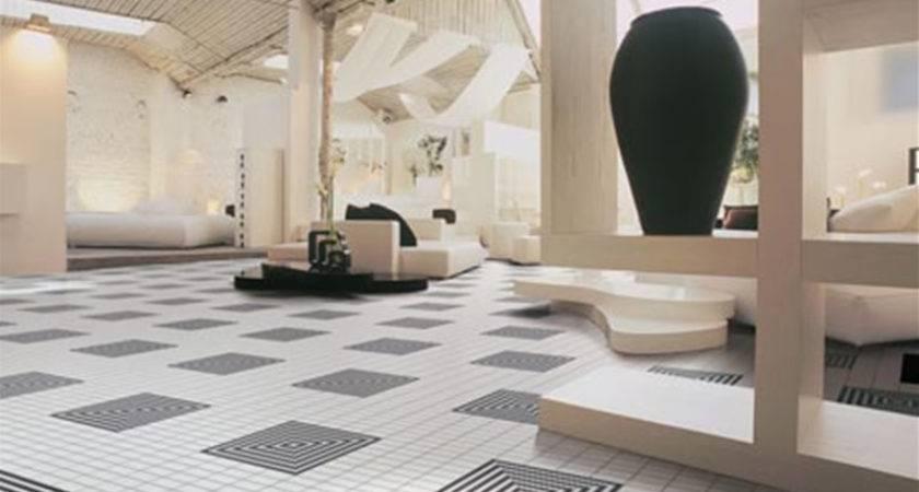 Modern Homes Flooring Tiles Designs Ideas