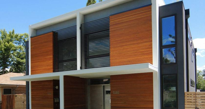 Modern Infill Project Healthy Efficient