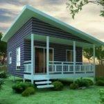 Modern Mini Homes Designs Ideas Front Exterior Views