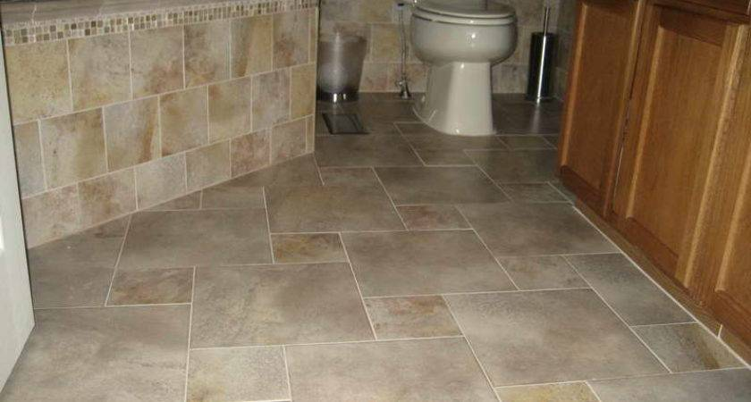 Modern Tile Flooring Patterns Bathroom Floor