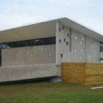 Modernist Sleek Concrete Active Passive Solar Home