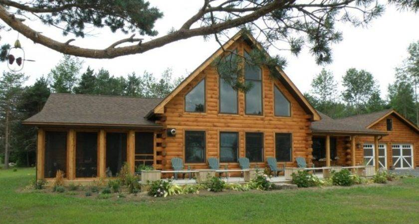 Modified Bridgewater Log Home Ahhhh Someday Pinterest