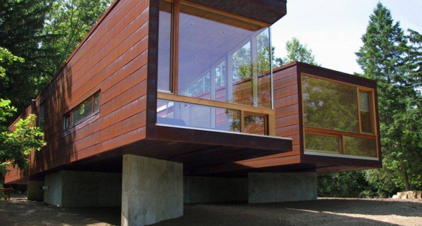 Modular Frame Prefab Cottage Michigan Usa Floor Plans Most