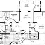 Modular Home Floor Plans Bedrooms Housing Construction