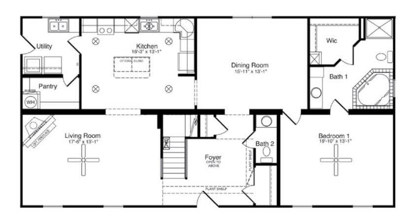 Modular Home Floor Plans North Carolina Homes
