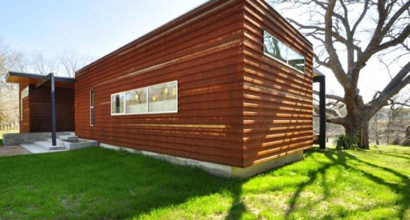 Modular Home Homes Modern Texas